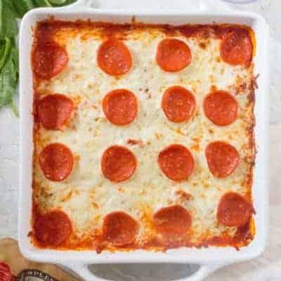 Gnocchi Pizza Bake