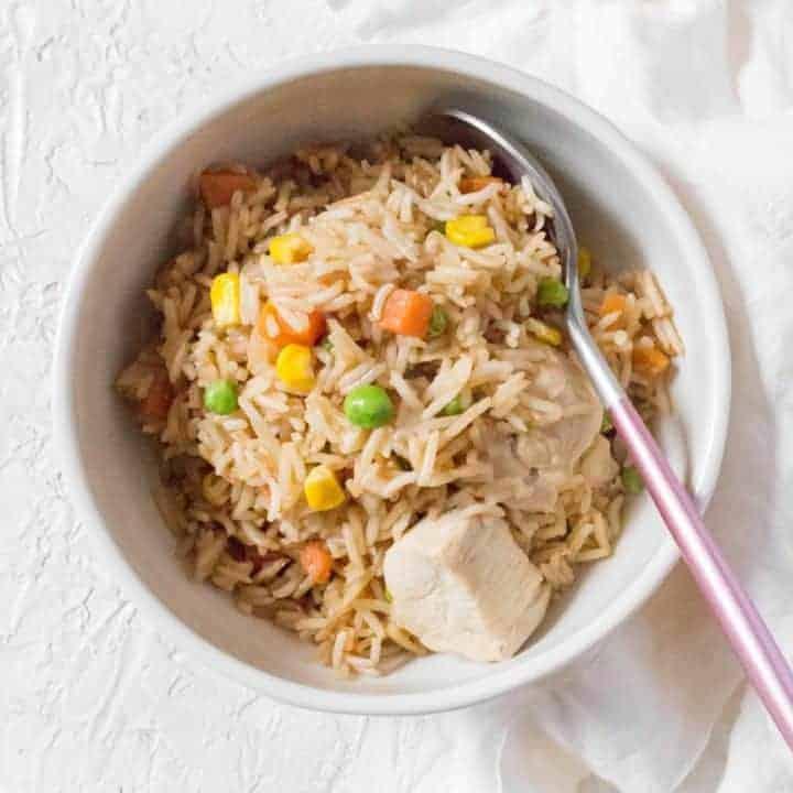 One Pot Teriyaki Chicken And Rice