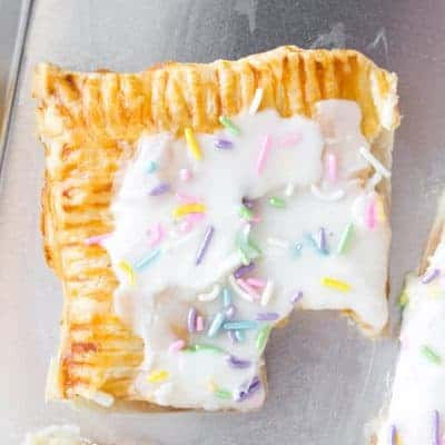 Sheet Pan Puff Pastry Pop Tart
