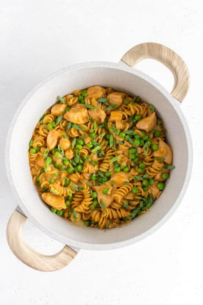 honey garlic chicken pasta
